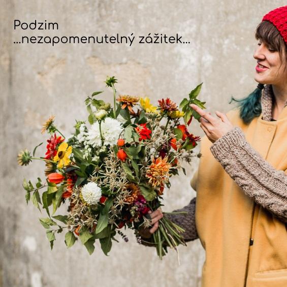 kytice na podzim
