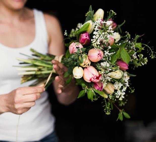 pece o kvetiny - Jak pečovat o květiny ve váze - Kytky od potoka