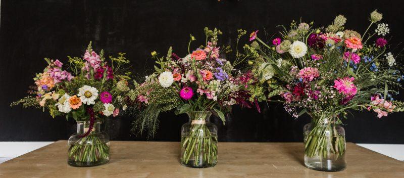 kyticevevaze kytkyodpotoka - Malý květinový workshop - Kytky od potoka