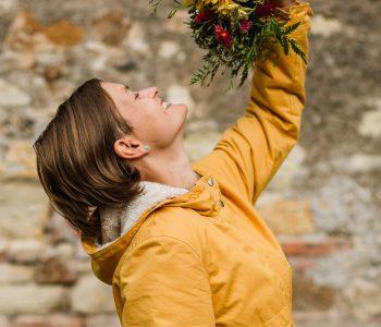 Kytkyodpotoka foceni s Nikol Klapkovou - U nás rozkvetou čisté květy i Vaše krása! - Kytky od potoka