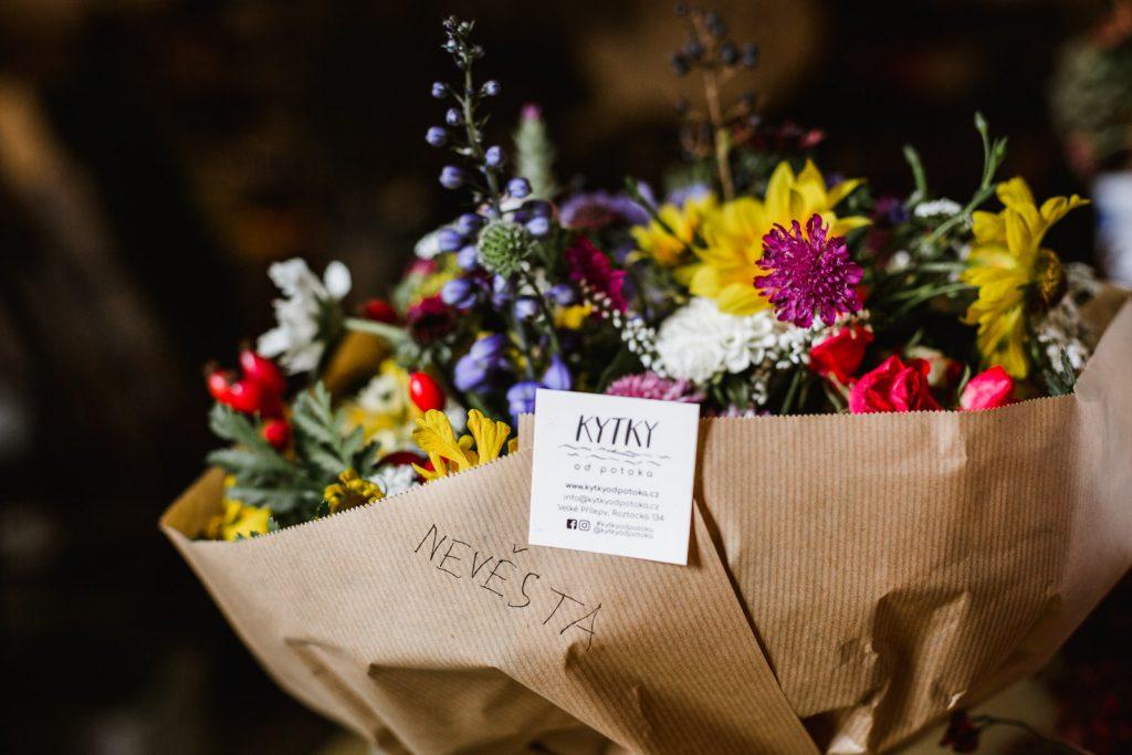 Kytice pro nevěstu Kytky od potoka - Novoroční poděkování - Kytky od potoka