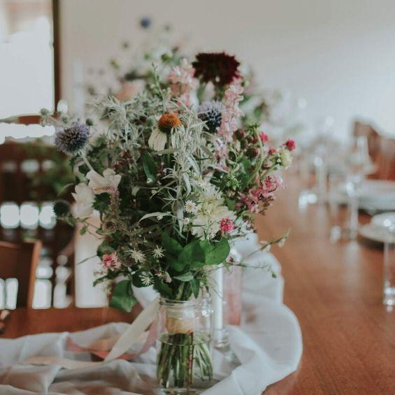 1 1 - Mini svatba - Kytky od potoka