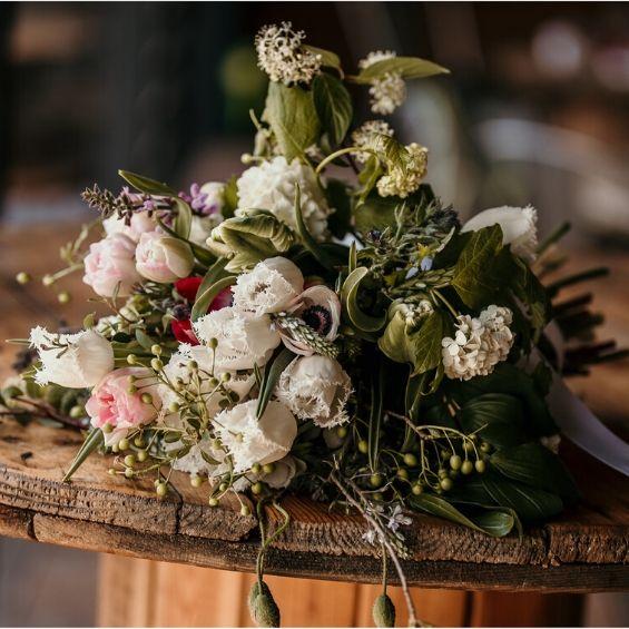 1 - Mini svatba - Kytky od potoka