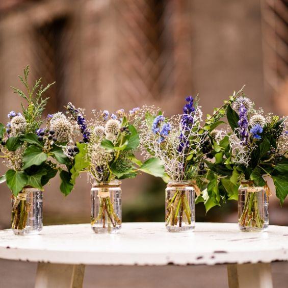 3 - Mini svatba - Kytky od potoka