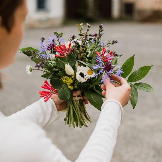 5 - Mini svatba - Kytky od potoka