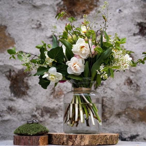 Mini svatebni kytice jaro Kytky od potoka - Mini svatba - Kytky od potoka