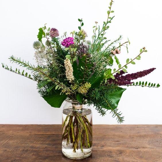 1 5 - Zimní kytice z lásky - Kytky od potoka