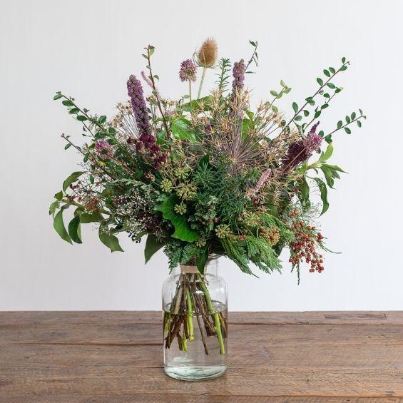 2 4 - Zimní kytice z VELKÉ lásky - Kytky od potoka