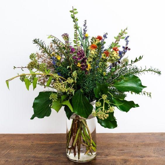 3 5 - Zimní kytice pro záplavu štěstí - Kytky od potoka