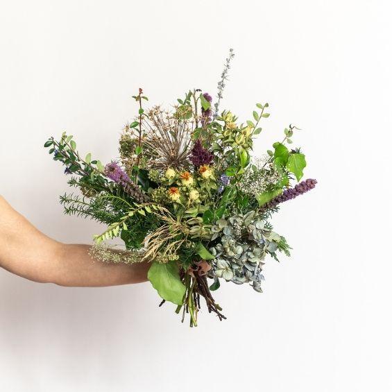 5 4 - Zimní kytice z VELKÉ lásky - Kytky od potoka