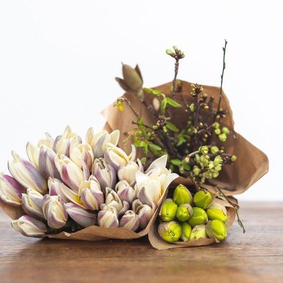 14 - Jarní kytice z krabice - Kytky od potoka