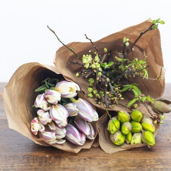 15 - Jarní kytice z krabice - Kytky od potoka