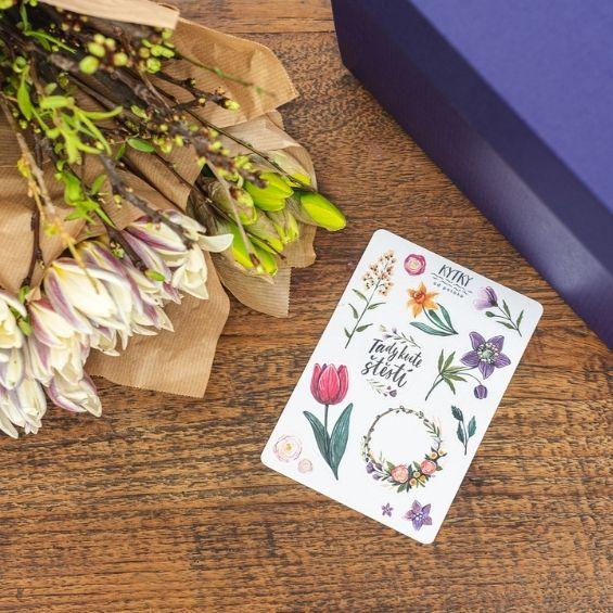 16 - Jarní kytice z krabice - Kytky od potoka