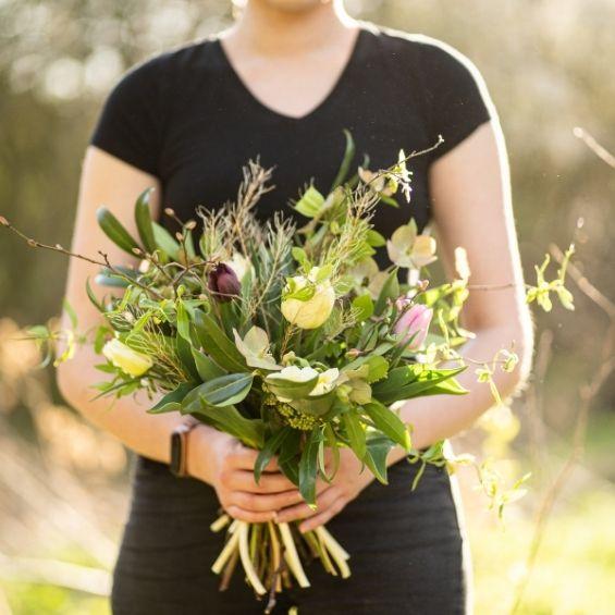 3 - Jarní kytice z lásky - Kytky od potoka