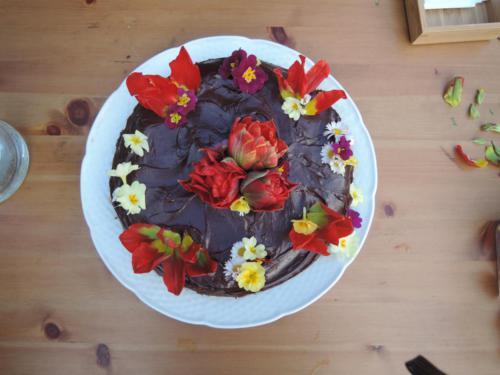 Kytky od potoka jedlé květy
