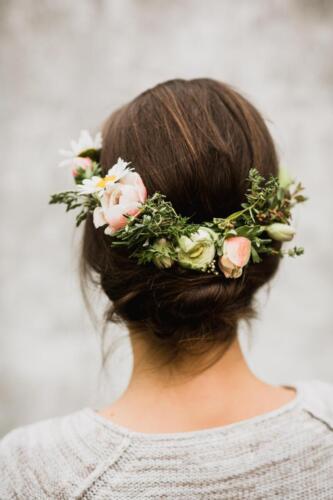 jarní věenček svatba v květnu