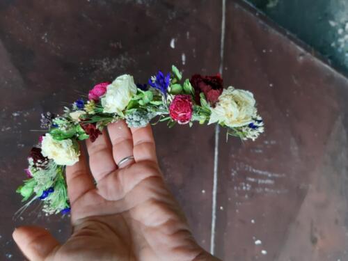 svatební věneček