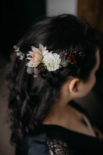 ozdoba do vlasů, svatba v září