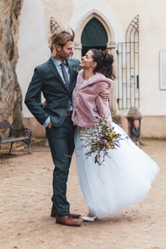 svatba v zimě magnolie