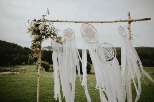 slavobrána letní svatba