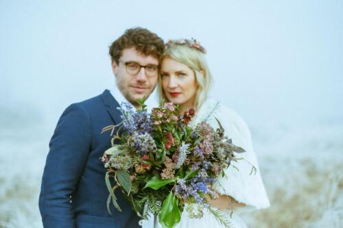 zimni svatebni kytice