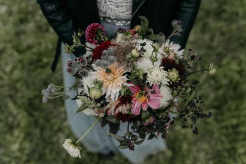 svatebni kytice, podzimní svatba