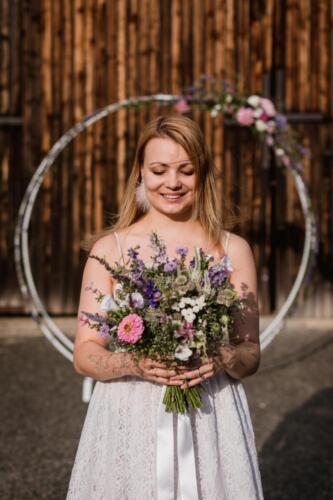 Kytice pro nevěstu léto a slavobrána