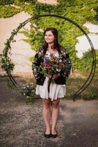 Letní svatba Kytky od potoka