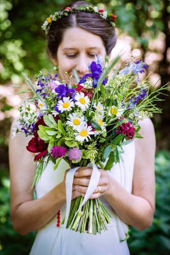 Jarni svatba Kytky od potoka