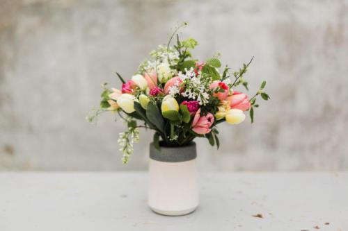 Tulipánová kytice